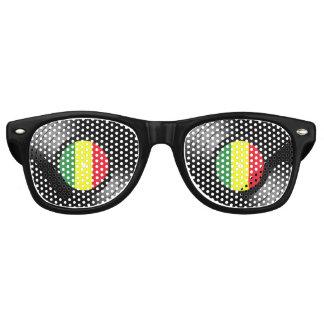Vinyl reggae retro sunglasses
