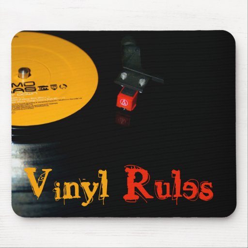 Vinyl Rules Mousepads