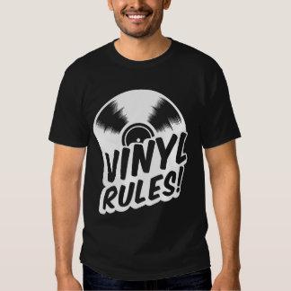 vinyl rules tee shirt