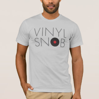 Vinyl Snob LP Record Collector Shirt