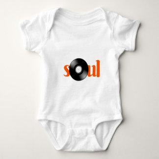 Vinyl Soul Music babygrow Baby Bodysuit
