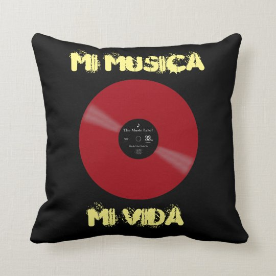 Vinyl - The Collectors' Edition Cushion
