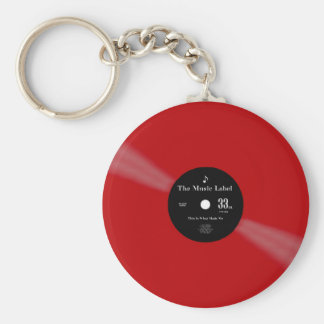 Vinyl - The Collector's Edition Key Ring