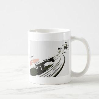 Vinyl Turntable Coffee Mug