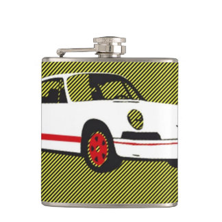Vinyl Wrapped Flask 911turbo by highsaltire