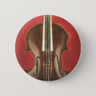 Viola 6 Cm Round Badge