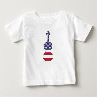 "Viola ""American Flag"" Baby T-Shirt"