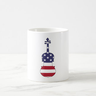 "Viola ""American Flag"" Coffee Mug"
