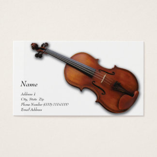 Viola Business Card for The Viola Store