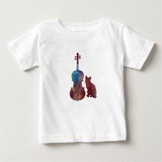 Viola Cat Art Baby T-Shirt