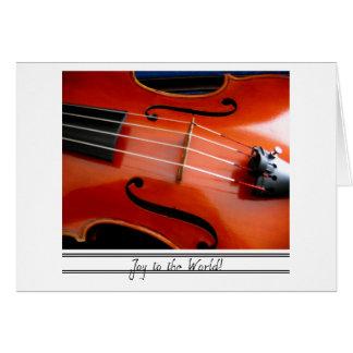 Viola Christmas Card