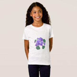 Viola floral T-Shirt