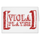 Viola Player Card