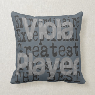 Viola Player Extraordinaire Cushion