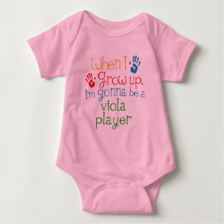 Viola Player (Future) Child Baby Bodysuit