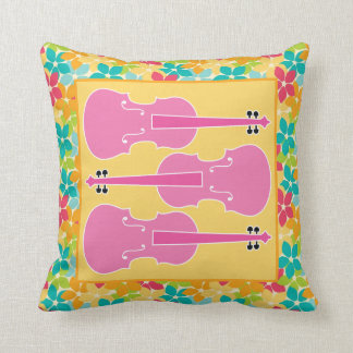 Viola Player Music Gift Throw Pillow