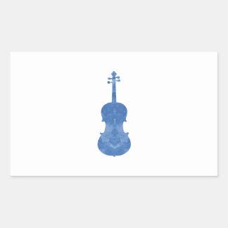 Viola Rectangular Sticker