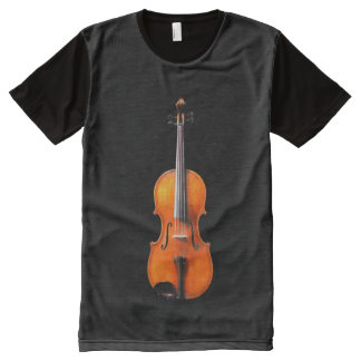 Viola Shirt Design by Leslie Harlow All-Over Print T-Shirt