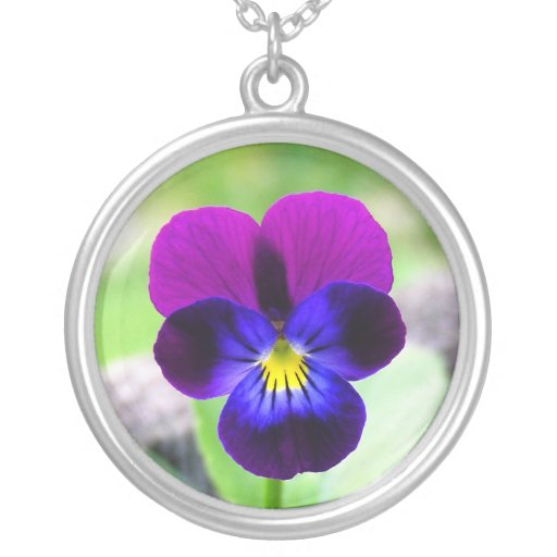 Viola: Thinking of You Necklace