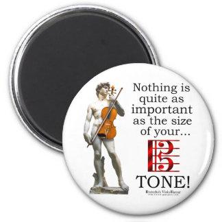 Viola Tone Fridge Magnets