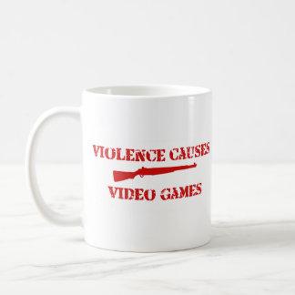 Violence Red Coffee Mug