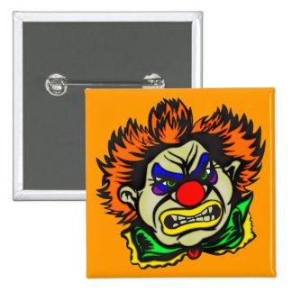 Violent Evil Clown Pin