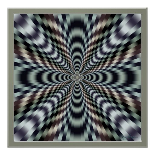 Violent Vibrations Print