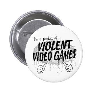 violent video games button