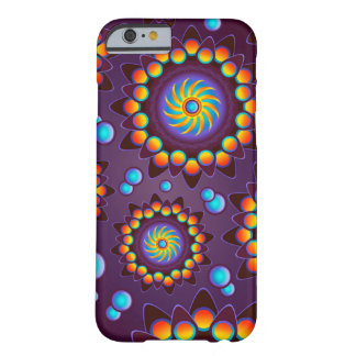 Violet abstract Flower Case Barely There iPhone 6 Case