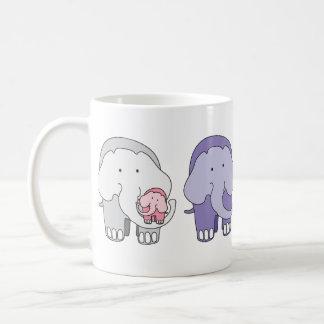 Violet and Friends - The Elephants Coffee Mug