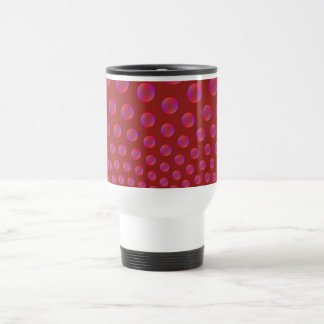 Violet and Red Bubbles Mug