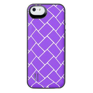Violet Basket Weave iPhone SE/5/5s Battery Case