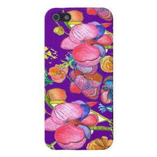 Violet Beauty Asian Design IPhone5 iPhone 5 Cases