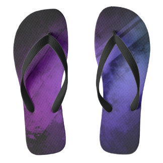 Violet Blue Purple Thongs