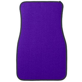 VIOLET BLUE  (solid color) ~ Car Mat
