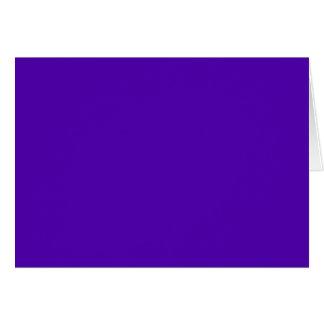 VIOLET BLUE  (solid color) ~ Greeting Card
