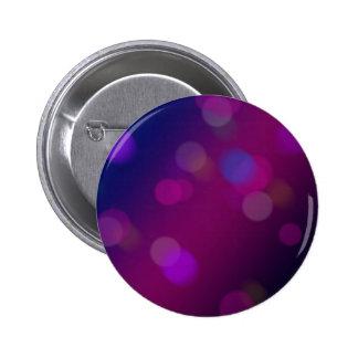 Violet Bokeh 6 Cm Round Badge