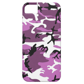 Violet Camo iPhone 5 Case