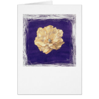 Violet Carnation Card