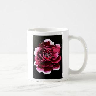 Violet carnation coffee mug
