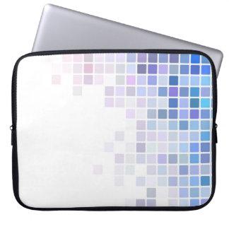 Violet Checkerboard Laptop Sleeve
