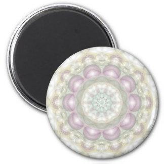 Violet Circus 6 Cm Round Magnet
