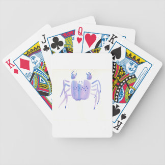 Violet Crab Bicycle Playing Cards
