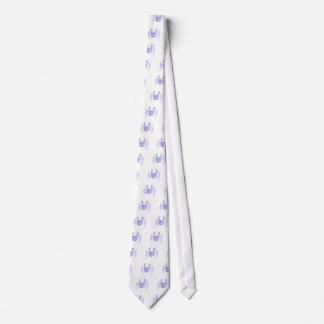 Violet Crab Tie