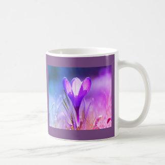Violet crocus 02.2.F Coffee Mug