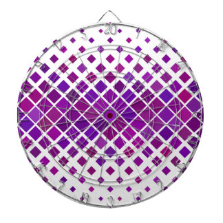 Violet Diamonds Dartboard