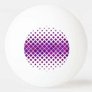 Violet Diamonds Ping Pong Ball