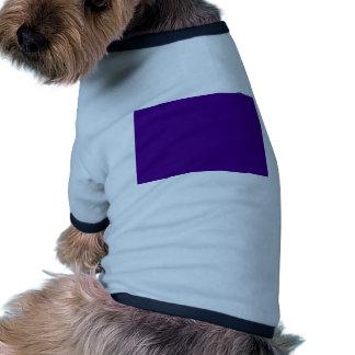 Violet Ringer Dog Shirt