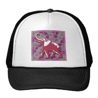 Violet Elephant Cap