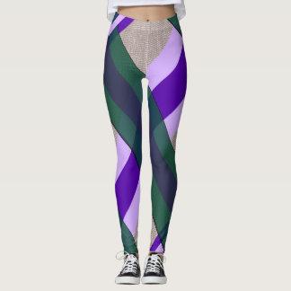 Violet-Emerald Leggings